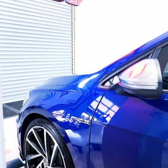 Golf R car detailing