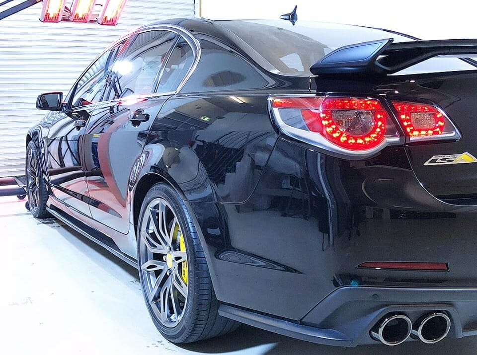 best HSV GTS car detailing