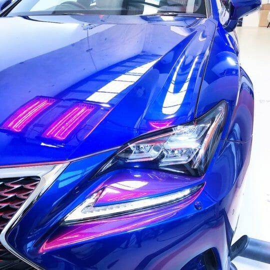 Lexus car detailing