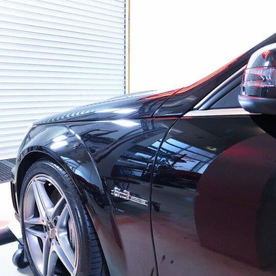 Mercedes C63 Car Detailing