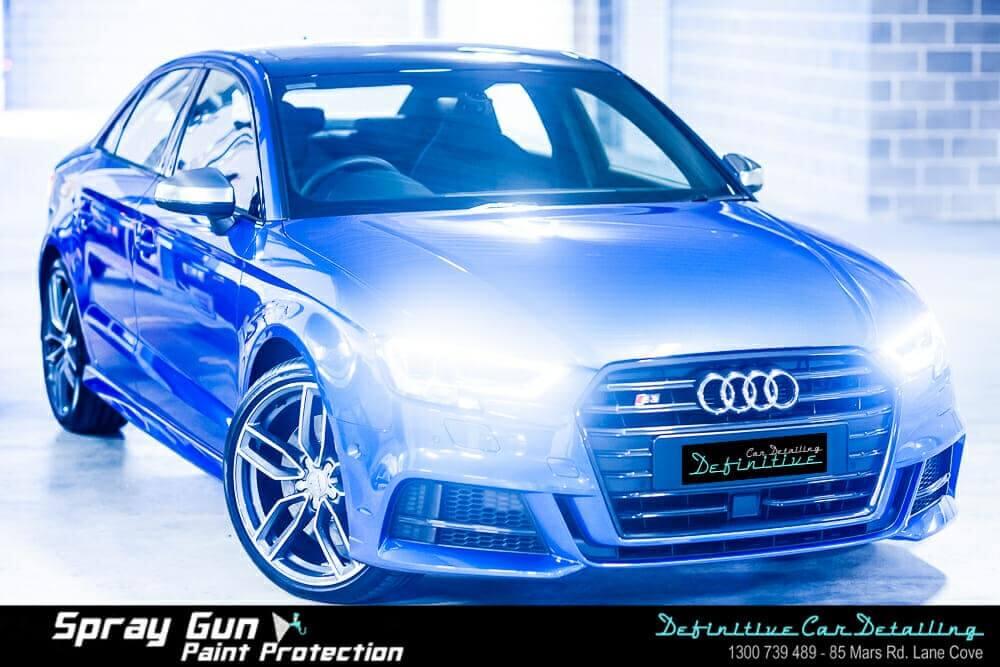 Audi car detailing