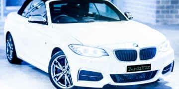 BMW M235i car detailing