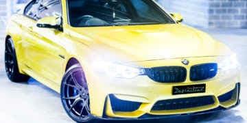 BMW M4 car detailing