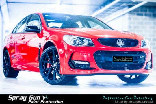 best Holden SSV car detailing