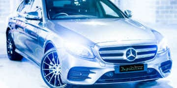 Mercedes car paint protection