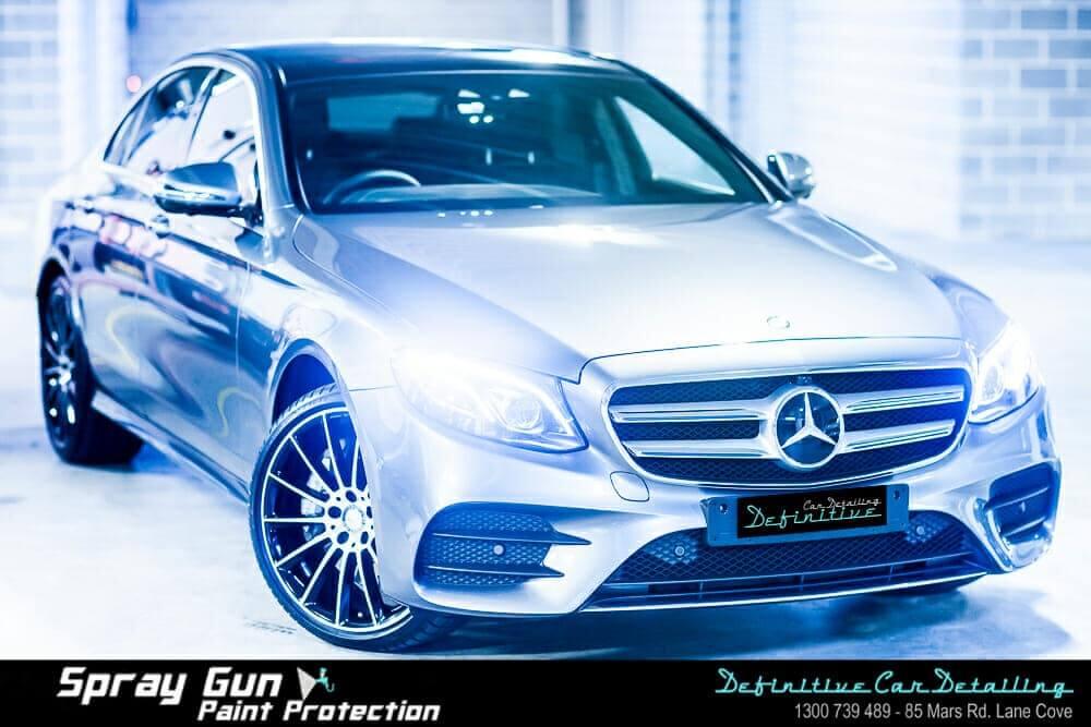 Mercedes car paint protection