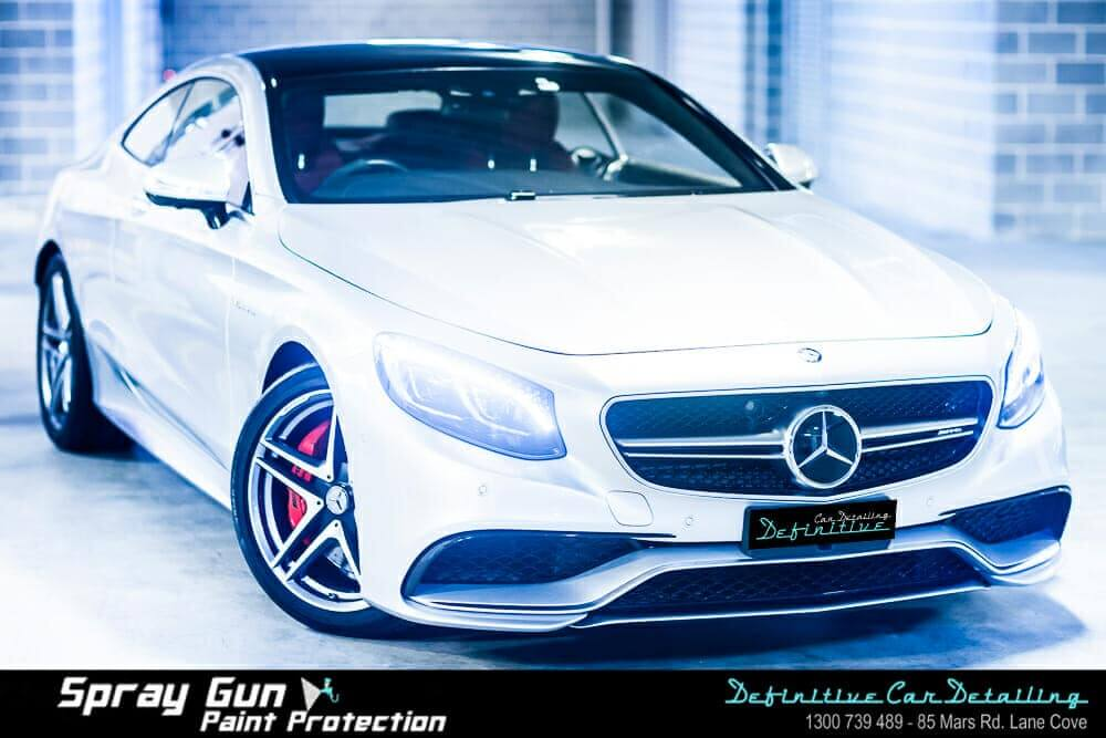 Mercedes car detailing