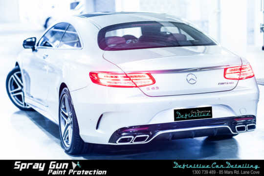 Mercedes S63 car detailing