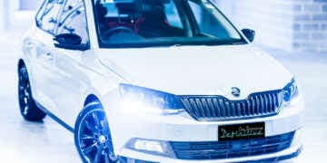 Skoda Fabia car detailing
