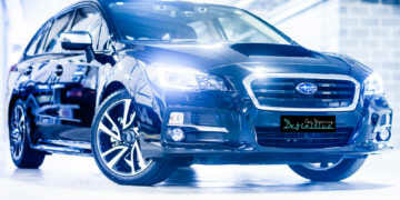 Subaru car detailing