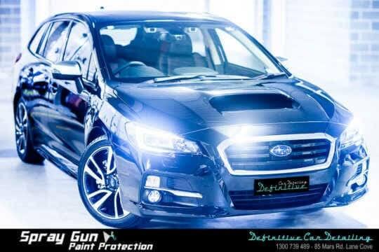 Subaru Levorg car paint protection