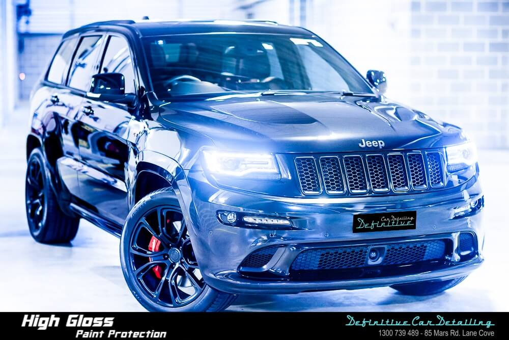 Jeep Grand Cherokee car detailing