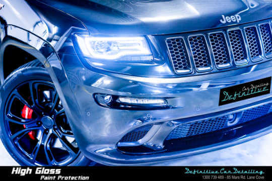 Best Jeep Grand Cherokee SRT8 car detailing