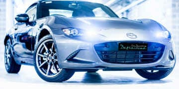 Mazda car detailing