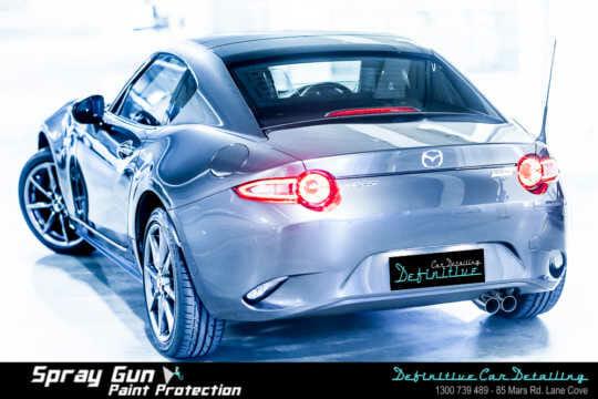 Mazda MX-5 paint repair