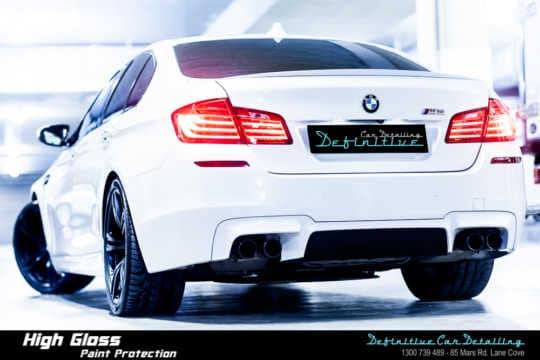 BMW M5 Car Detailing