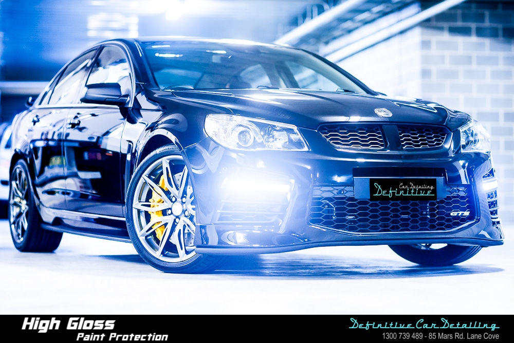 HSV GTS Car Detailing