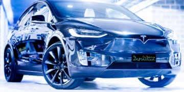 Tesla Model X Car Detailing