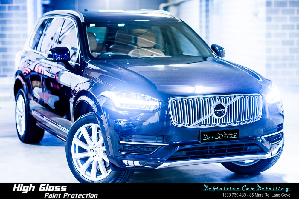 Volvo car detailing