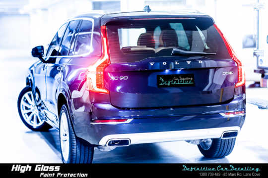 best Volvo car detailing