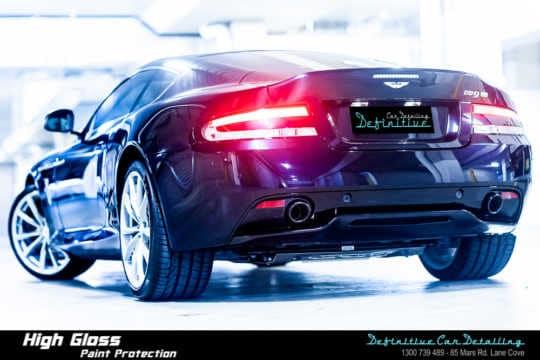 Aston Martin DB9 GT Car Detailing
