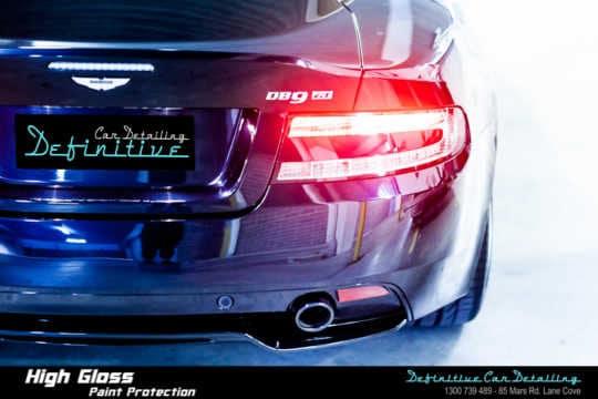 Aston Martin DB9 GT Paint Correction