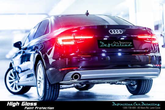 Audi A4 Car Detailing