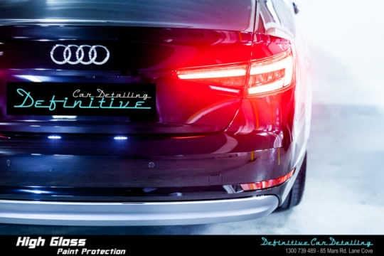 Audi A4 Paint Correction