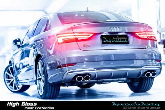 Audi S3 Car Detailing