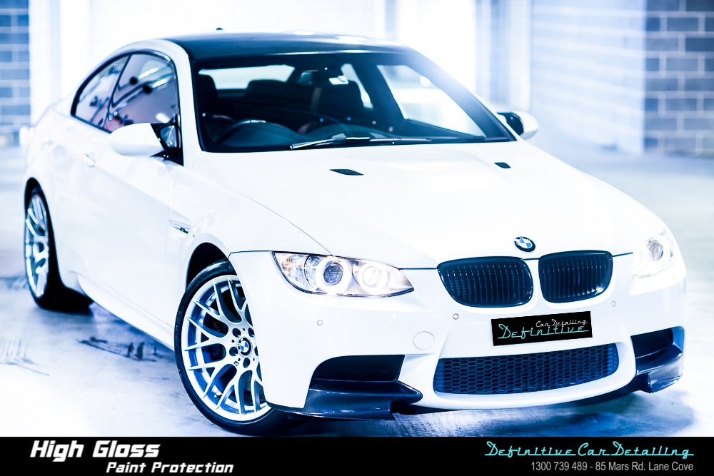 BMW M3 E92 Best Car Detailing