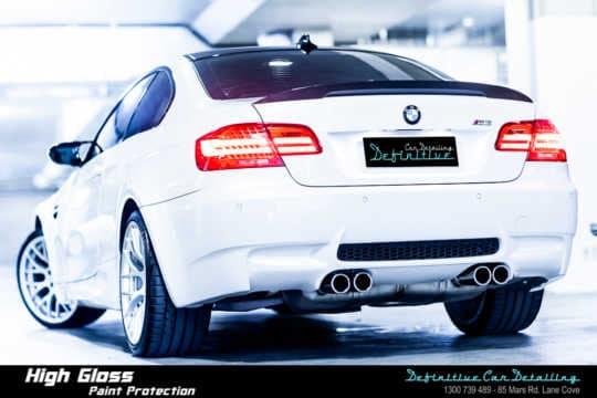BMW M3 E92 Car Detailling