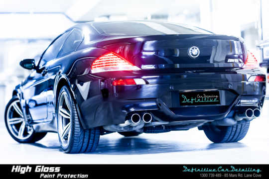 BMW M6 Car Detailing
