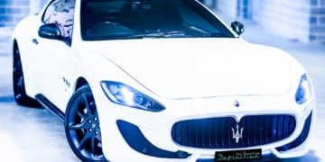 Maserati GranTurismo MC Sport Bianco Car Detailing