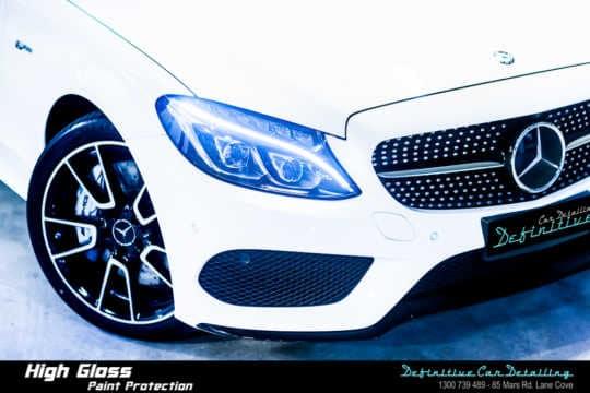 Mercedes AMG C43 Car Detailing
