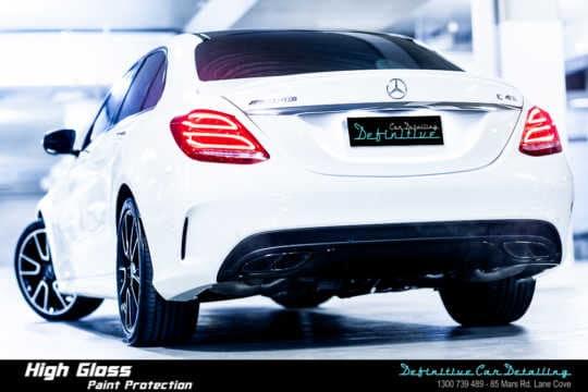 Mercedes AMG C43 Paint Correction