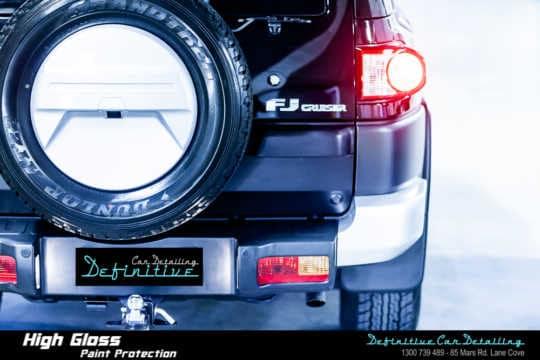 Toyota FJ Cruiser Paint Correction