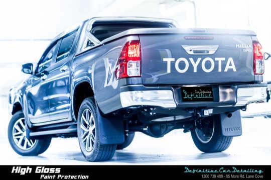 Toyota Hilux SR5 Car Detailing