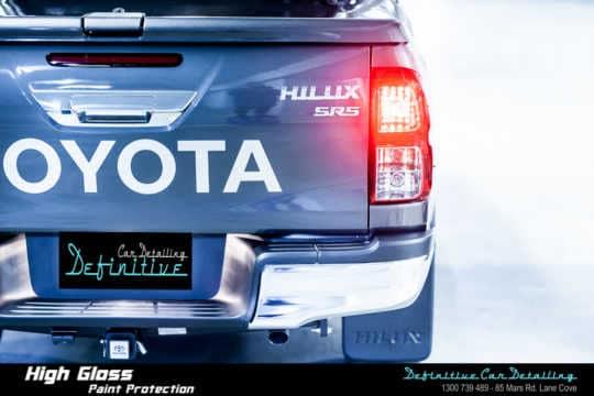 Toyota Hilux SR5 Paint Correction