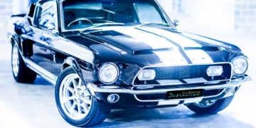 68 Shelby Mustang GT500KR Best Car Detailing