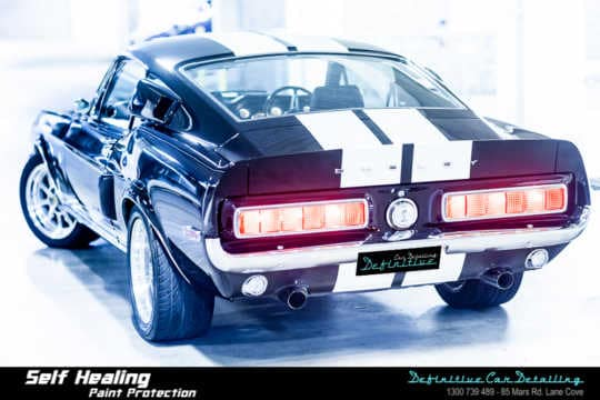 68 Shelby Mustang GT500KR Car Detailing