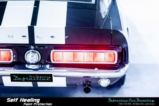 68 Shelby Mustang GT500KR Paint Correction