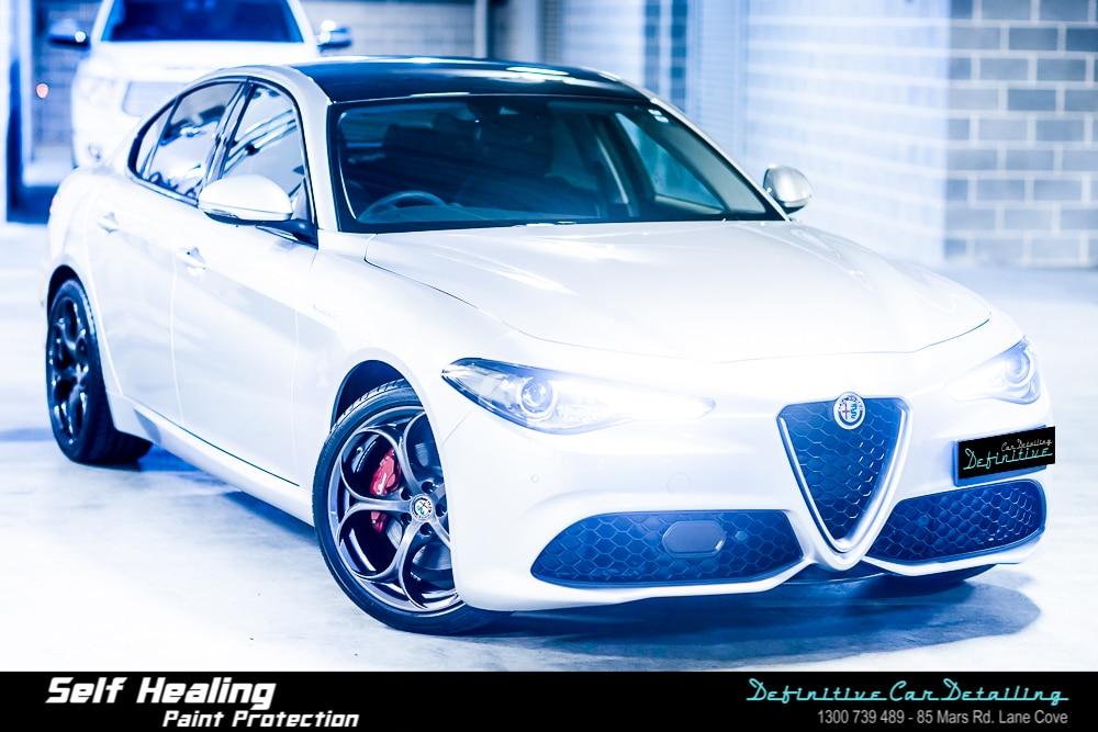 Alfa Romeo Giulia Best Car Detailing