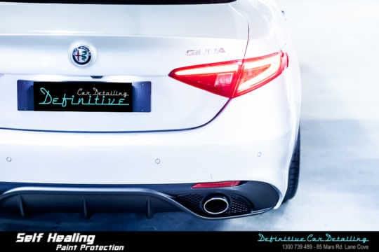 Alfa Romeo Giulia Paint Correction