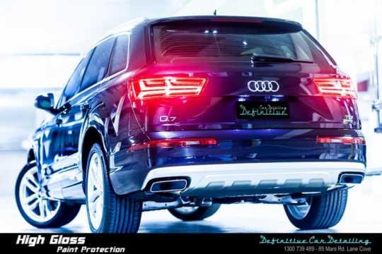 Audi Q7 Car Detailing