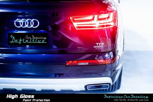Audi Q7 Paint Correction