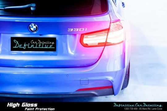 BMW 330i Paint Correction