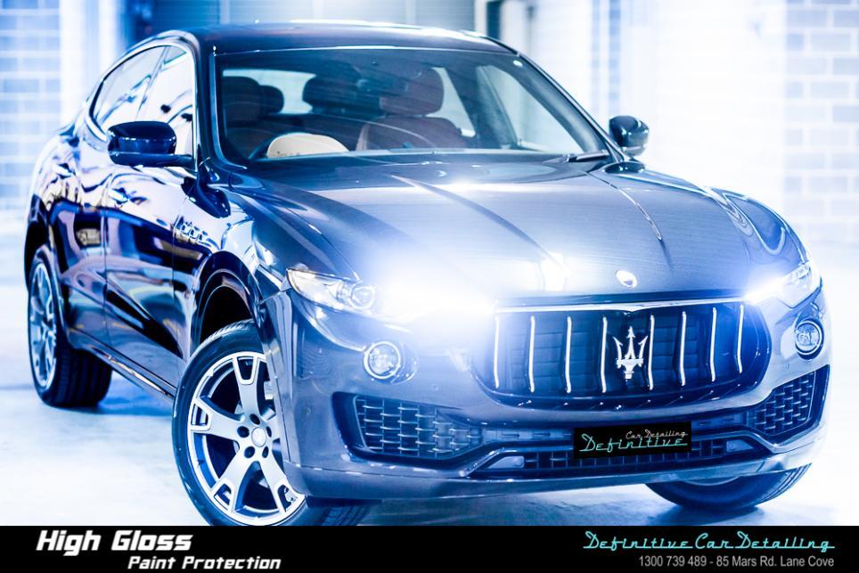 Maserati Levante Best Car Detailing