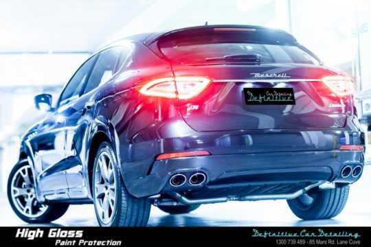 Maserati Levante Car Detailing