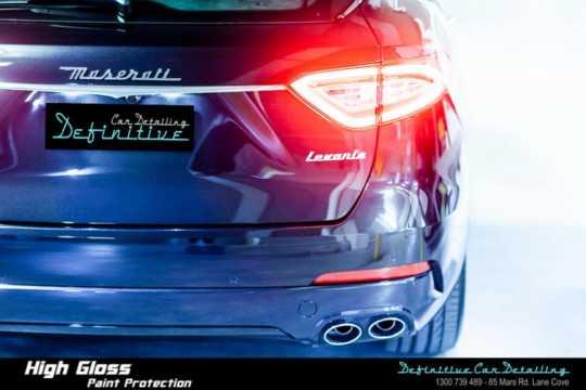 Maserati Levante Paint Correction