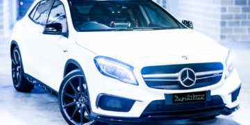 Mercedes AMG GLA45 Best Car Detailing